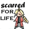 megpie71: Simplified bishie Edward Elric is Scarred For Life (scarred for life)