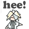 "megpie71: Simplified bishie Rufus Shinra says ""Heee!"" (laughing)"