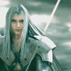 megpie71: Sephiroth holding Masamune ready to strike (Advertising)