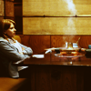 """raletha: scarlett johansson at a table from """"Lost in Translation"""" (Default)"""