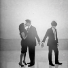 sinensis: elizabeth, peter and neal from the famous promo shot (white collar)