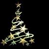 rhi: a holiday tree made of stars (holiday star tree)