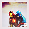 kabal42: Captain America and Iron Man leaning on each other, arms around each other's shoulders (Default)
