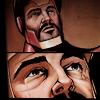kabal42: Tony Stark crying during the Civil War comics (Comics - Avengers - Tony crying (CW))
