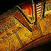 rhi: The stargate, chevron locked. (Stargate)