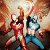 rushhour: (Avengers: go go Steve & Tony)