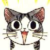 kjbrasda: Chii says yay! (chii yay)