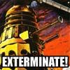 jkcarrier: an angry dalek, exterminating (dalek)