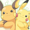 mitbix: Pokemon, Raichu & Pikachu | http://bit.ly/h4YCaV (partners in crime)
