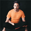 feywood: robert downey jr in lotus position ((robert downey jr) yoga)