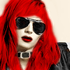 vibrant_horizon: A young man with vibrant red hair and huge dark sunglasses (Sunglasses)