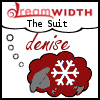 denise: Dreamsheep labeled 'denise' and 'the suit' (the suit dreamsheep)