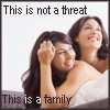 lerah99: Two women in love (Not a threat - family)