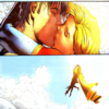 powerboy: (In Central Park, Supergirl gives Powerboy his first kiss.)  (Supergirl/Powerboy: Romantic)