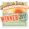 lielac: Stamp saying 'NaNoWriMo Winner 2011' (i am the winner it is me)