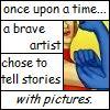 anthimeria: Comic book panels (Sequential Art)