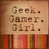 hermitsoul: geek gamer girl icon (* geek gamer girl: unexpectedbox)