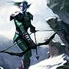 fierysea: Night Elf archer (nelf)