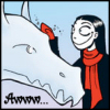 anotherdream: Nemi with snow dragon (Default)