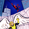 sentienttoaster: ((X-Men) Caught in a web)