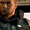 pajaroenvuelo: close crop of james vega looking offscreen (mass effect { vega })