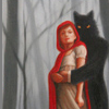 excursor: (wolf, little red riding hood)