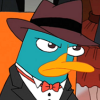 badass_tiger: Perry the Platypus from Undercover Carl (Poker)