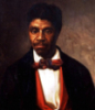 lover_man: 19thC black man in suit (black red)