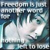 hopeofdawn: (no freedom)