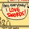 notyourleo: (I LOVE SWORDS)