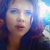 sinensis: Natasha, closeup, with explosions behind her. (natasha)