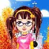 waterfall8484: An elouai doll maker approximation of what I look like. (Long, brown hair in pigtails, glasses, a slightly cheeky look.) (Me by waterfall8484)