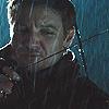 torakowalski: (Movie Avengers Clint rain)