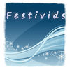 thuviaptarth: festivids on blue and white swirl (festivids)