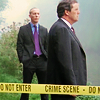 mrs_sweetpeach: Lewis and Hathaway standing behind some Crime Scene tape (Lewis/Hathaway Crime Scene tape)