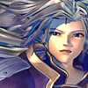 fallen_stage: Kuja looking up, hair spread out behind him (Who inward search'd)