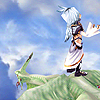 fallen_stage: Kuja monologueing while standing on his silver dragon in flight (That did never choose amiss)