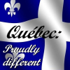 tomboy_typist: Quebec Flag: Proudly different (Original:Quebec|Proudly different)
