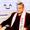 westlifefan: (George Clooney - Happy Crown)