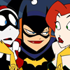 bluejaybirdie: Babs pimping with Harley and Ivy (The Femslash Icon)