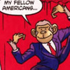 bluejaybirdie: Dubya as a monkey (monkey dubya)