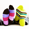 ghoti: two pairs of stripey socks (socks)