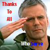 "thothmes: O'Neill Salutes.  ""Thanks to All Who Serve"" (Thanks To All Who Serve)"
