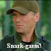 "thothmes: O'Neill being sarcastic - ""Snark-gasm!"" (Snark-gasm!)"