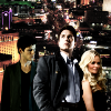 andothersuchphrases: The Trio (Des, Mathias, and Pagiel) with Vegas in the background (What happens in Vegas...)