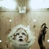 "ginainthekingsroad: jonna lee in the plastic collar from iamamiwhoami's video ""o"" (iamamiwhoami- o)"