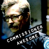 drakyndra: Because the Batcast is also pretty damn awesome (Batman: Commissioner Awesome)
