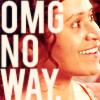 "avendya: Gwen, captioned ""OMG NO WAY"" (Merlin - omg no way)"