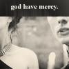 avendya: Morgana and Arthur; captioned God have mercy (Merlin - god have mercy)