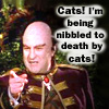 "applecameron: livefortheone's Londo Mollari ""nibbled to death by cats"" icon (livefortheone-Londo Mollari-""cats"")"
